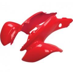 Plastique - Carénage Avant Rouge MAIER pour Quad Honda TRX 400 EX (05-07)