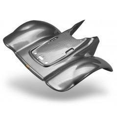 Plastique - Carénage Arrière Look Carbone MAIER pour Quad TRX 300 EX (93-06)