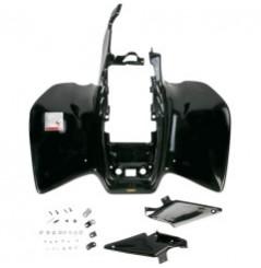 Plastique - Carénage Arrière Noir MAIER pour Quad Honda TRX 450 R - ER (06-14)