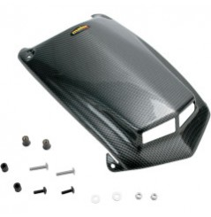 Coque Cache Phare Avant Look Carbone MAIER pour Quad Honda TRX 450 R (04-14)