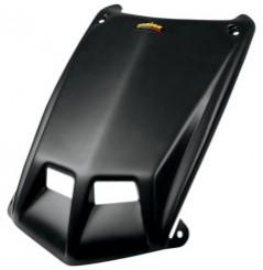 Coque Cache Phare Avant Noir Mat MAIER pour Quad Honda TRX 450 R (06-14)