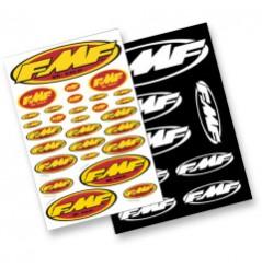 Planche Adhésive Stickers FMF pour Moto / Quad