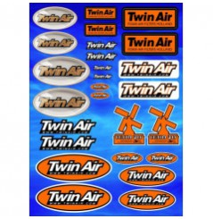 Planche Adhésive Stickers TWIN AIR pour Moto / Quad