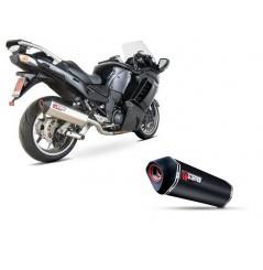 Silencieux Scorpion Serket Inox Kawasaki GTR1400 (07-17)