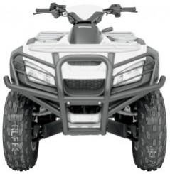 Bumper Avant MOOSE pour Quad Honda TRX 650 Rincon (03-05) TRX 680 Rincon (06-15)