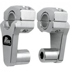 Rehausse de Guidon Pivotante Alu ROX SPEED FX +51mm pour Tés de Fourche ø22mm