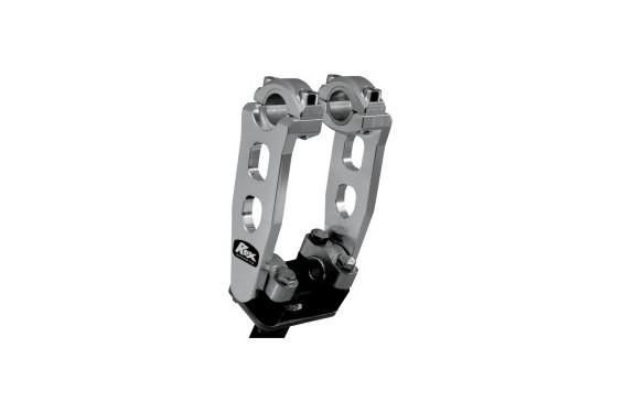 Rehausse de Guidon Pivotante Alu ROX SPEED FX +125mm pour Tés de Fourche ø22mm