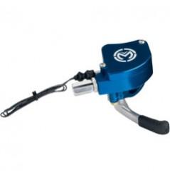Gachette D'accélérateur avec Capteur Electronique Alu Bleu MOOSE RACING pour Quad Yamaha YFZ 450 - Honda TRX 450 R