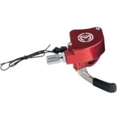 Gachette D'accélérateur avec Capteur Electronique Alu Rouge MOOSE RACING pour Quad Yamaha YFZ 450 - Honda TRX 450 R