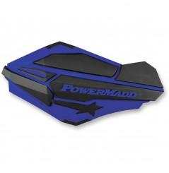 Protèges-Mains Moto / Quad POWERMADD SENTINEL Bleu - Noir