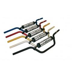 Guidon Moto-Quad Argent RENTHAL CLASSIC Bas Diamètres 22.2 mm