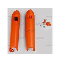 Protection de Fourche UFO pour KTM EXC125 (05-16) EXC200 (08-16) EXC250 (08-16)