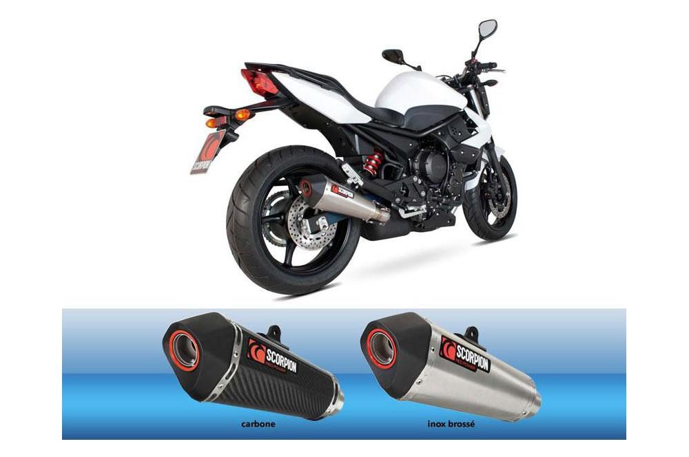 silencieux scorpion serket carbone yamaha xj6 09 16 street moto piece. Black Bedroom Furniture Sets. Home Design Ideas