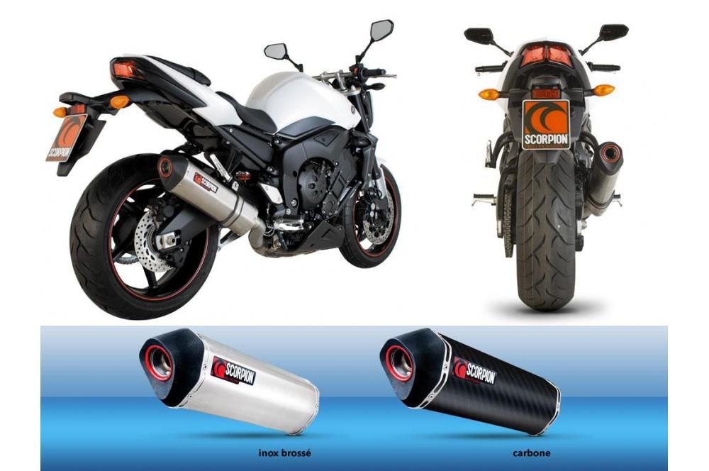silencieux scorpion serket carbone yamaha fz1 06 16 street moto piece. Black Bedroom Furniture Sets. Home Design Ideas