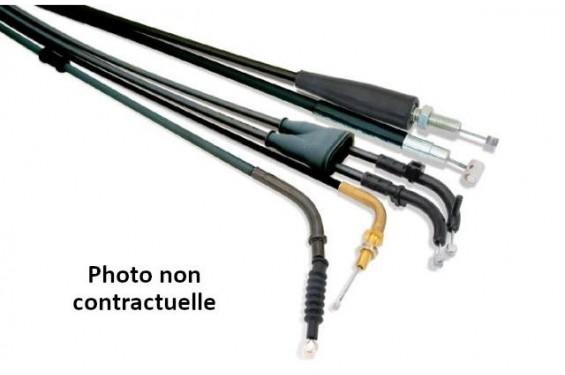 Câble d'Accélérateur Aller/Retour Bihr pour Honda CRF250 R (04-09) CRF450 R (02-08) CRF450 X (05-16)