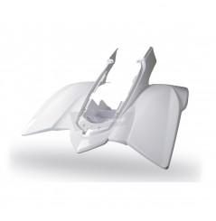 Plastique - Carénage Arrière Blanc POLISPORT pour Quad Yamaha YFZ 450 (04-08)