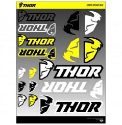 Planche Adhésive Stickers THOR Corpo pour Moto / Quad