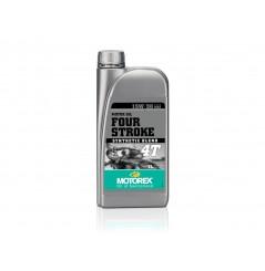 Huile Motorex Four Stroke 4T 15W50 Semi-Synthétique 1 Litre