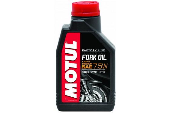 Huile Motul Fork Oil Factory Line Very Light 7.5W 1 Litre