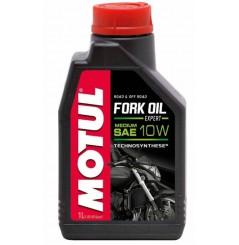 Huile Motul Fork Oil Expert Medium 10W 1 Litre, pour fourche moto