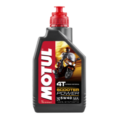 Huile Motul Scooter Power 4T 5W40 1 litre
