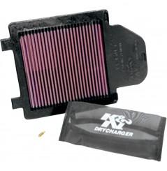 Couvercle de Boite à Air Filtrant K&N POWERLIDS pour Yamaha YFZ 450 (04-13)