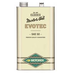 Huile Motorex Evotec Vintage SAE 50 5 Litres + Filtre à Huile Offert