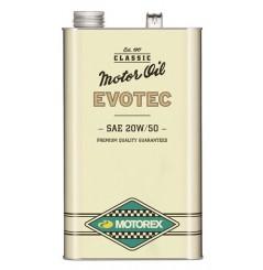 Huile Motorex Evotec Vintage 20W50 5 Litres + Filtre à Huile Offert