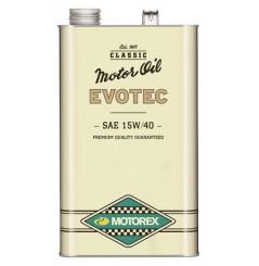 Huile Motorex Evotec Vintage 15W40 5 Litres + Filtre à Huile Offert