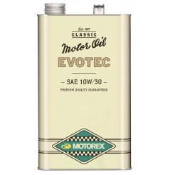 Huile Motorex Evotec Vintage 10W30 5 Litres + Filtre à Huile Offert