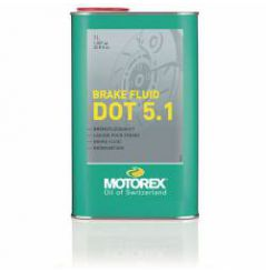 Liquide de frein Motorex Brake Fluid DOT 5.1 1 Litre