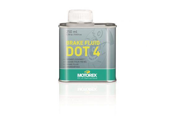 Liquide de frein Motorex Brake Fluid DOT 4 pour Moto 250ml