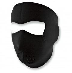 Masque Facial Néoprène ZANHEADGEAR Black Moto - Quad - Scooter