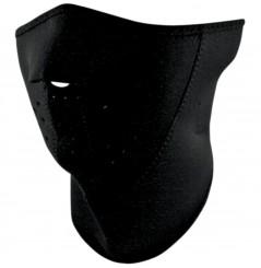 1/2 Masque Facial Néoprène 3 Couches ZANHEADGEAR Black Moto - Quad - Scooter