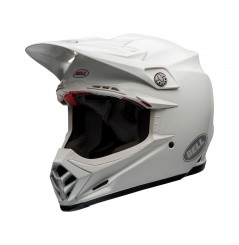 Casque Moto Cross BELL MOTO-9 FLEX SOLID Blanc 2020