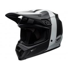 Casque Moto Cross BELL MX-9 MIPS PRESENCE Noir - Blanc