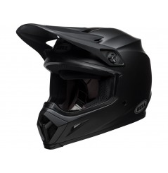 Casque Moto Cross BELL MX-9 MIPS SOLID Noir Mat 2021