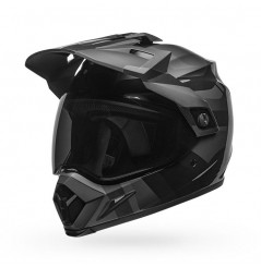 Casque Moto Cross BELL MX-9 ADVENTURE MIPS BLACKOUT Noir - Gris 2021