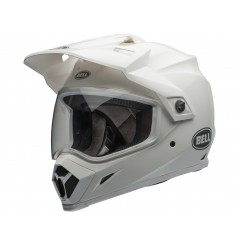 Casque Moto Cross BELL MX-9 ADVENTURE MIPS SOLID Blanc 2021