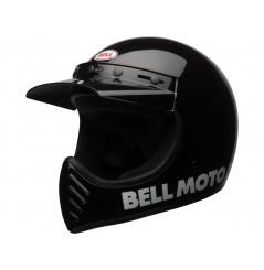 Casque Moto Cross BELL MOTO 3 CLASSIC Noir