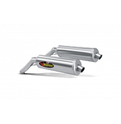 Silencieux Titane Akrapovic Homologué pour V-Strom 1000 (02-09)