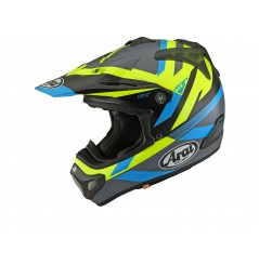 Casque Moto Cross ARAI MX-V MACHINE Noir - Bleu - Jaune
