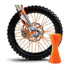 Couvre Rayon Orange pour Motocross et enduro
