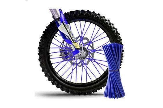 Couvre Rayon Bleu pour Motocross et enduro