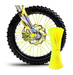 Couvre Rayon Jaune fluo pour Motocross et enduro