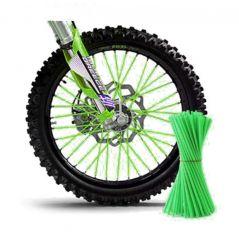 Couvre Rayon Vert pour Motocross et enduro