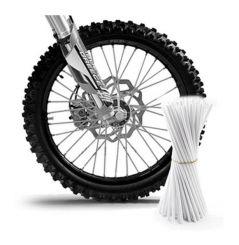 Couvre Rayon Blanc pour Motocross et enduro