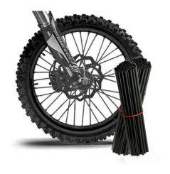 Couvre Rayon Noir pour Motocross et enduro