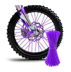 Couvre Rayon Violet pour Motocross et enduro