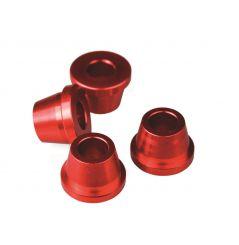 Douilles Alu Scar Rouge pour Honda CRF250 R (04-18) CRF450 R (02-18) CRF450 RX (17-18)